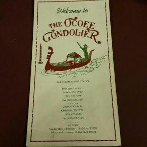 The Ocoee Gondolier