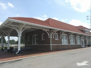 Cleveland Southern Railway Depot