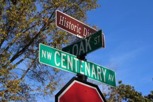 Centenary Avenue Historic District