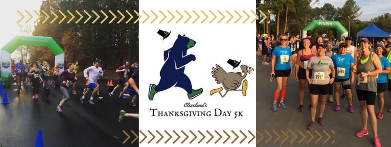 Cleveland's Thanksgiving Day 5k - Visit Cleveland TN