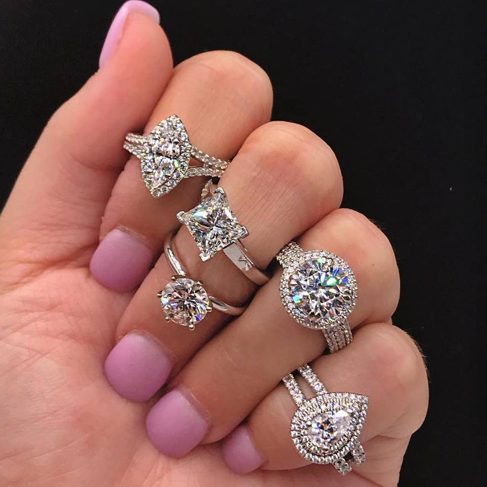 Spring Engagement Ring And Wedding Band Event Visit