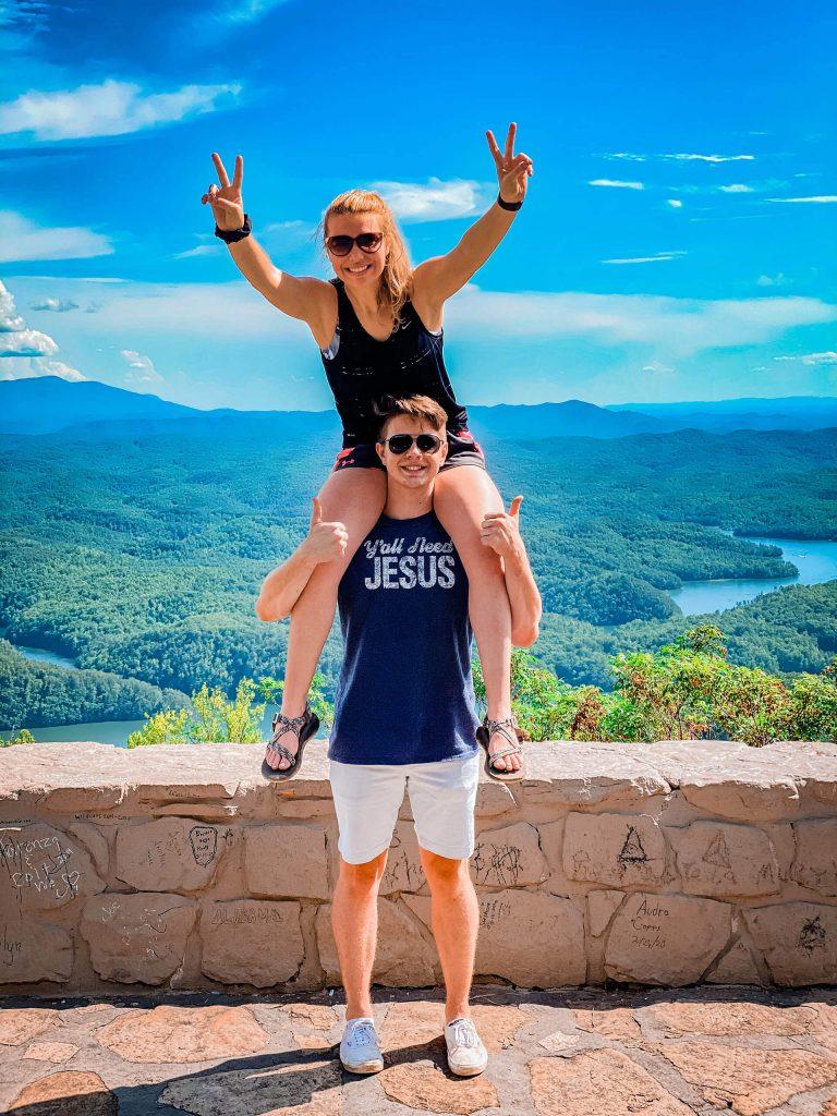 Chilhowee mountain fun