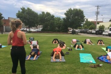 Yoga in the Park Cleveland TN